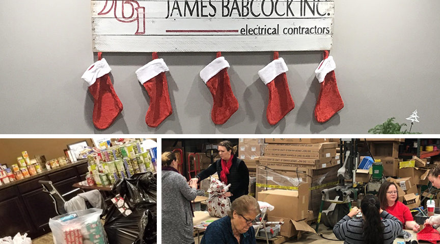 Babcock Electric and Santa's Elves of Indy